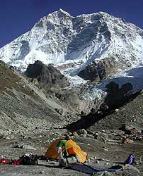 French base camp, Makalu